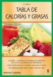 Tabla de calorias y grasas / Table of calories and fat