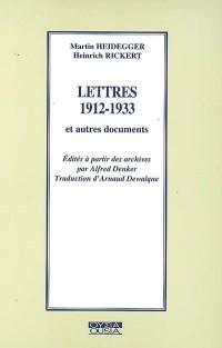 Ousia, N° 57 : Lettres 1912-1933 et autres documents