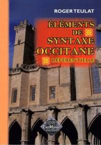 Eléments de Syntaxe Occitane Référentielle
