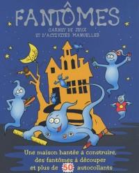 Fantômes : Carnet de jeux et d'activités manuelles