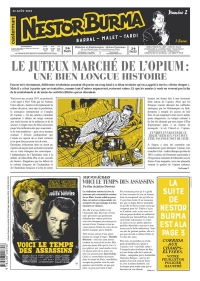 Nestor Burma - Corrida aux Champs-Elysees - Journal N 2