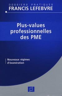 Plus-values professionelles des PME : Nouveaux régimes d'exonération