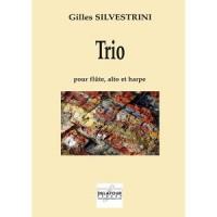 Trio pour flûte, alto et harpe