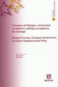 Processus de Bologne, Construction Europeenne, Politique Europeenne de Voisinage