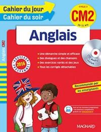 Cahier du jour/Cahier du soir Anglais CM2 - Nouveau programme 2016