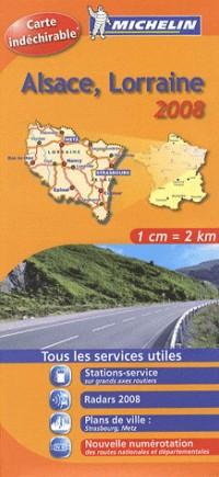 Carte Routiere Alsace Lorraine Hr 2008