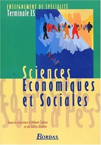 Sciences économiques et sociales, terminale ES : Enseignement de spécialité