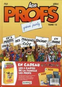 Les Profs, Tome 12 : Grève party : (+ Jeu des familles Bamboo)