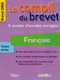 Français toutes séries : Brevet 2008