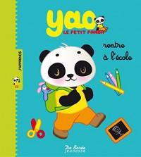 Yao le petit panda rentre à l'école