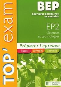 EP2 Sciences et technologies BEP Carrières sanitaires et sociales