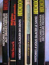 hitchcock - lot 6 titres (histoires a deconseiller aux grands nerveux - histoires qui font mouche - histoires a claquer des dents - histoires piégées - histoires a vous glacer le sang - histoires a do