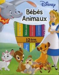 Ma première bibliothèque bébés animaux de Disney : Avec 12 livres tout-carton