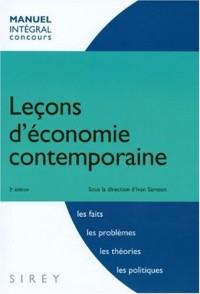 Leçons d'économie contemporaine