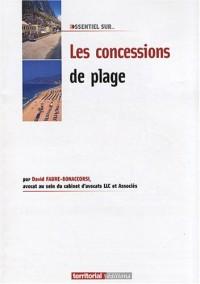 Les concessions de plage