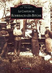 Le canton de Rohrbach-Les-Bitche
