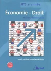 Economie-droit BTS 2e année : Manuel de l'élève