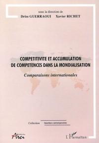 Compétitivité et accumulation de compétences dans la mondialisation : Comparaisons internationales