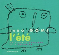 L'Été : Un livre à dessiner et à colorier