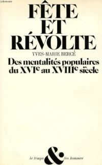 Fête et révolte