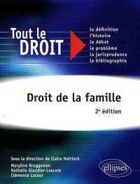 Droit De La Famille Tout Le Droit 2Eme Edition