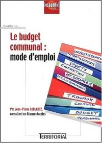 Le budget communal : mode d'emploi