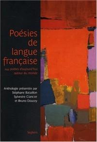 Poésies de langue française