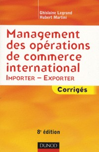 Management des opérations de commerce international