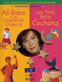 Ali Baba et les Quarante Voleurs ; Les Trois Petits Cochons (1CD audio)