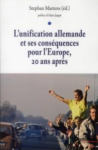 Unification Allemande et Ses Conséquences pour l Europe Vingt Ans Après