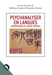 Psychanalyser en langues