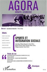 Agora Débats/Jeunesse, N° 33 : Sports et intégration sociale