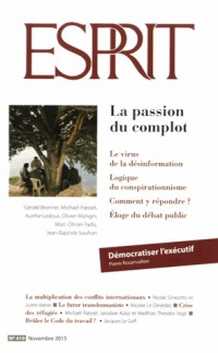 Esprit, N° 419 : La passion du complot
