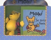 Maki,je suis beau;coffret livre et peluche