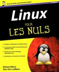 LINUX 9ED POUR LES NULS