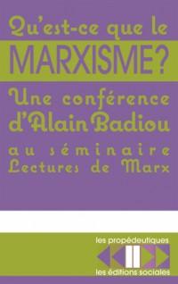Qu'est-ce que le marxisme ?