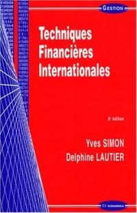Techniques financières internationales