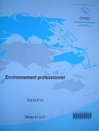 C.A.P. petite enfance - environnement professionnel