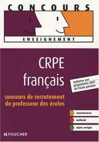 CRPE français : Concours de recrutement de professeur des écoles