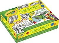 Coffret Crayola - Coloriages et stickers en feutrine