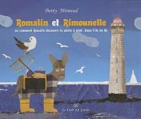 Romalin et Rimounelle pêchent à pied dans l'île de Ré