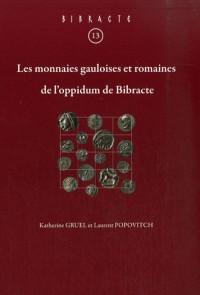 Les monnaies gauloises et romaines de l'oppidum de Bibracte