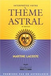 Interprétez votre thème astral