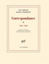Correspondance (1961-1963) : Tome 2