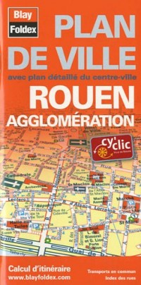 Plan de Rouen et de son agglomération