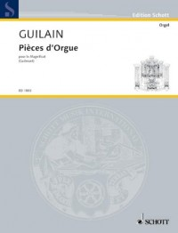 SCHOTT GUILAIN JEAN ADAM - ORGAN PIECES - ORGAN