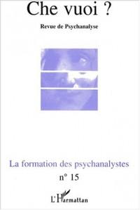 Formation des psychanalystes (la)