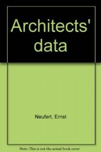Architects' data [Hardcover] by Neufert, Ernst