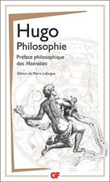 Philosophie : Préface philosophique des Misérables