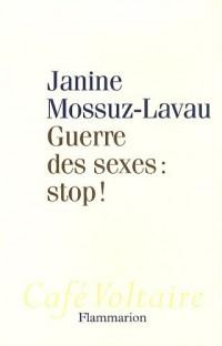 Guerre des sexes : stop !